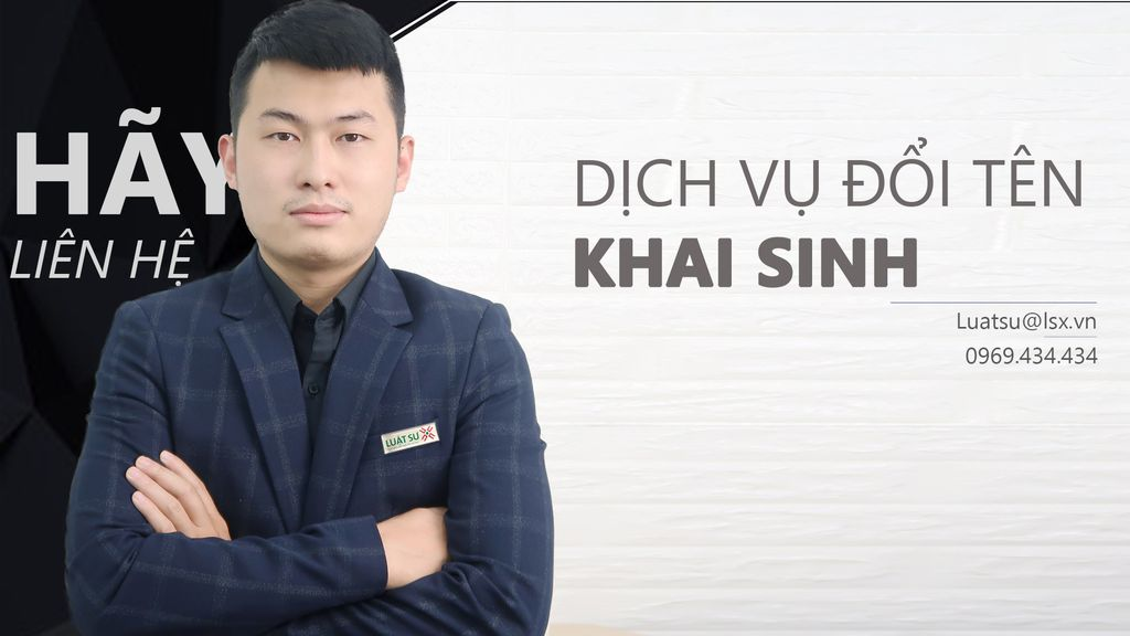 Dịch vụ đổi tên khai sinh tại Hà Nội