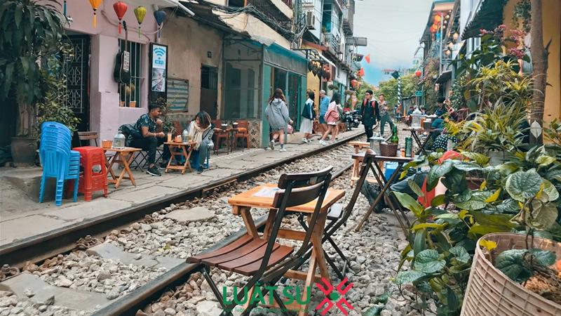 Cafe đường tàu có hợp pháp?
