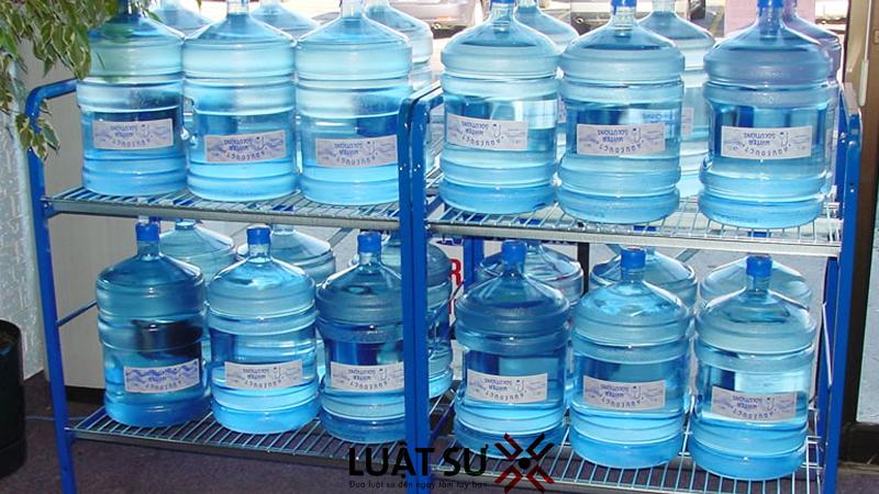 dịch vụ xin sản xuất nước đóng chai